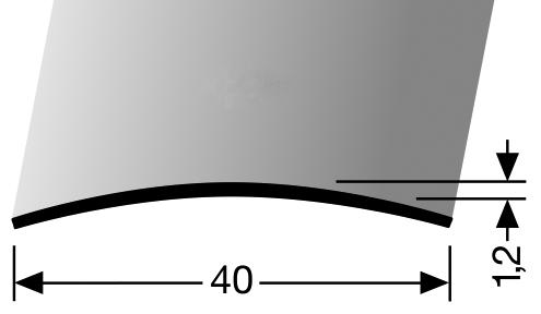 Þekjulisti messing (454)
