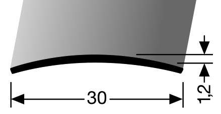 Þekjulisti messing (452)