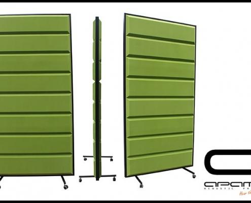Skilrúm Ps5 Z 1045 x 2045 x 100 mm Green